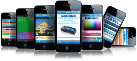 aplicación iphone para colorcatch 3